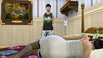 Japanese Son Fucks Japanese Mom After After Sharing The Same Bed