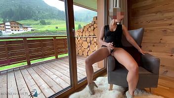 sexy secretary in bodycon dress dildo play - projectfundiary