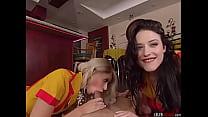 2 Broke Girls . Max and Caroline