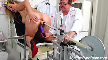 Hot MILF Ameli Monk examined by our freaky doctor