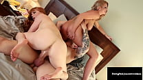 Fucking Fine Felons Penny Pax & Brooklyn Chase Suck A Policeman Penis!