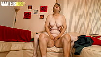 XXX OMAS - Perv German Granny Rides Her Man While Nobody's At Home