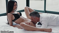 Sexy Latina Eliza Ibarra Passionate Affair With Boss - EroticaX