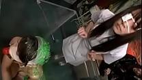 JAPANESE NURSE VOMIT ON SLAVE GIRL