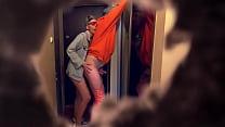 Hidden camera - Neighbor girl fucks her boyfriend. Are they perverts?