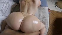 Sexy bimbo with huge ass