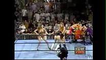 Spanking in Women's Pro Wrestling