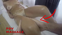 POV Close Up Massage to a Sexy Latina Milf wearing Transparent Sexy Panty