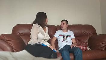 Shy student fucked insatiable teacher (Milf Alina Tumanova)