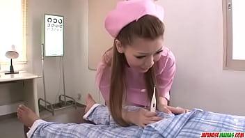 On Her Knees, Ayumi Kobayashi Gives A POV Blowjob