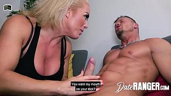 British Busty Blonde Boss Bitch Mature Milf Rebecca Jane Smyth Dates Muscular German - DATERANGER.com