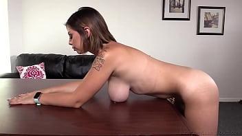 20yo Big Titty Italian College Girl Aubree Bounces On That Hard Cock!