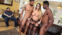 Busty Sex Therapist Has Radical Treatment For a Cuckold - Brooklyn Chase