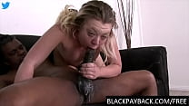Hardcore gagging facefuck on a BBC