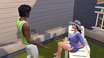 Sims 4 - Common days in the sims   My friend's mom part 1/2