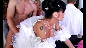 Czech wedding group sex 56 min
