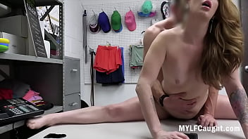 MILF Fucks Cop's Hairy Dick After Getting Caught- Crystal Taylor