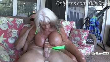 Granny Jerks Off Son By Pool-Sally D'Angelo