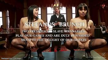 Asian sluts compete for Alpha slave