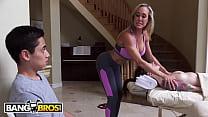 BANGBROS - Busty Blonde Masseuse Brandi Love Seduces Client's BF Juan El Caballo Loco