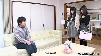 Japanese fuck doll Amiru Kinohara suck dick, uncensored