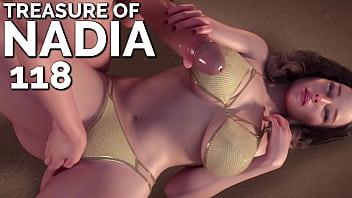 TREASURE OF NADIA #118 • Fingering a hot brunette MILF