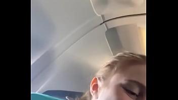 Mamada en el avión