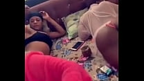 Two Bitches From Nigeria Bouncing ass