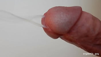 Extreme close up cock orgasm and ejaculation cumshot