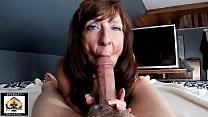Sexy Milf Marie Large Cock Blowjob Big Cumshot 12 min