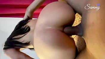Petite Latina Teen Anal Creampied (Amateur latina Ass to Mouth)