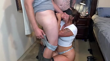 Tag Teaming Amateur Hotwife 61 min