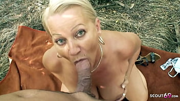 Curvy 73yr old Granny POV Scandal Sex on way home with Young 20 min