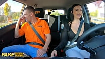 Fake Driving School Instructor Cheats with Hot Student Lady Gang
