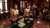 Asian sluts fucked at bdsm party