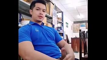 Jakol sa opisina habang walang tao