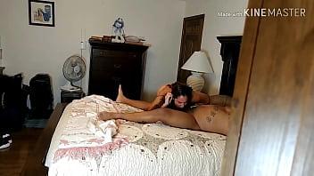 Voyeur husband watches wife fuck BBC bull from closet pt 2 - Becky Tailorxxx
