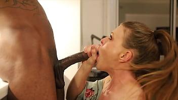 White Girl Deep Throats BBC