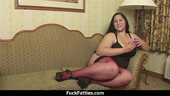 FuckFatties - Fat Hot Babe Tries Porn For The First Time 12 min