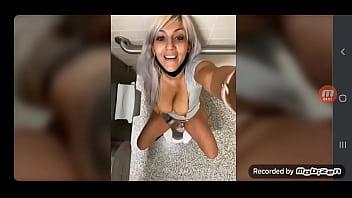 Cum in the toilet