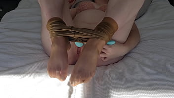 JOI Stockings and feet with orgasm