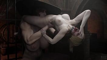 Lesbica fortona pega mulher como se fosse uma almofada e lambe as partes baixas da mesma