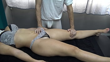 Husband Gave a Massage Gift to his Wife 14 min