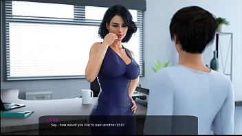 16 - Milfy City - v0.6e - Part 16 - Stepmother wants to fuck in her office (dubbing)