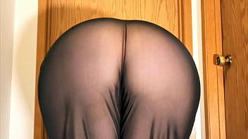 Mom Big Ass See Through Pants