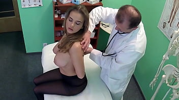 Fake Doctor Fucks her Milf Patient with HUGE Tits 8 min