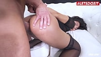 HER LIMIT - Polly Pons & Luca Ferrero - Hot Asian Teen Rides Anal Her Big Dick Daddy