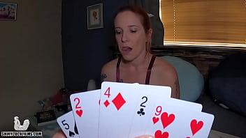 Strip Poker with Mom - Shiny Cock Films