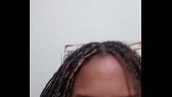 Novinha se exibindo no facecast
