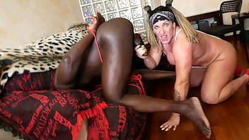 Extreme BDSM to a BBC man. 10 min